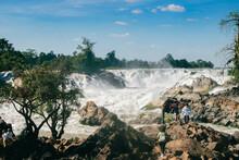 The Khone PhaPheng Falls