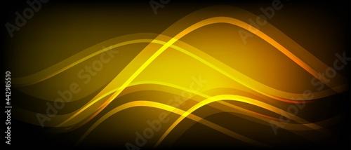 Fotografie, Obraz Neon abstract background