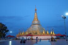 Shwedagon Pagoda In Tachileik