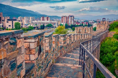 Valokuva Attractive spring cityscape of Skopje - capital of North Macedonia, Europe