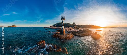 Fotografie, Obraz Coastal lighthouse on Dongshan Island, Fujian Province, China