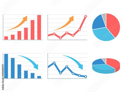 Obraz na plátne グラフセット