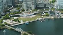 Japan Yokohama Port City Sailing Ship Nippon Maru Park