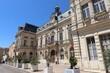 La mairie de Bollene, vue de l'exterieur, ville de Bollene, departement du Vaucluse, France