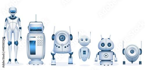 Billede på lærred Cartoon robot