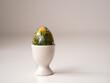 Pisanka na stole wielkanocnym, śniadanie wielkanocne, jajko wielkanocne
