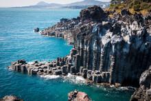 Jungmun Daepo Coast & Jusangjeolli Cliff