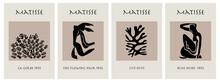 Matisse Abstract Art Set, Aesthetic Contemporary Art, Boho Decor, Minimalistic Art, Illustration