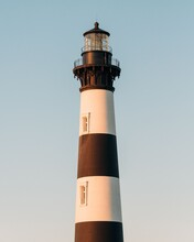 Bodie Island Lighthouse, In The Outer Banks, North Carolina