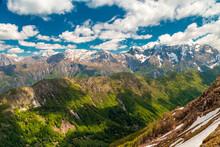 Spring Cloudy Day In The Julian Alps, Friuli-Venezia Giulia, Italy