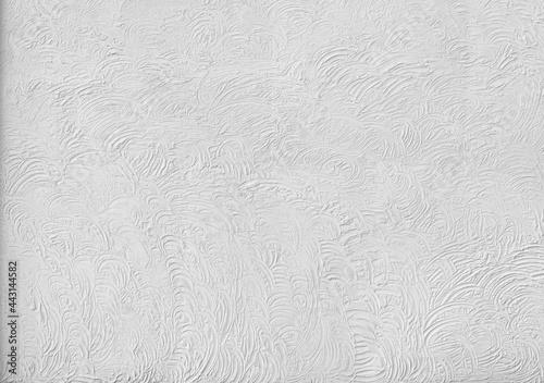 Vintage grey plaster concrete art wall background Fototapet