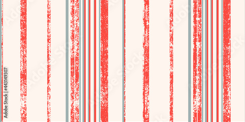 Obraz na plátně Longitudinal block, thin, thick regular lines, seamless digital printing pattern