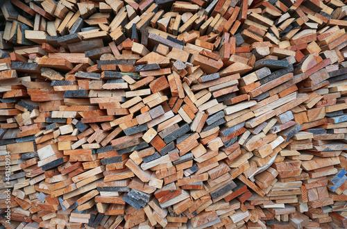 Fotografie, Obraz stack of firewood