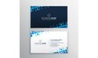 Abstract creative luxury elegant modern corporate minimalist business card template