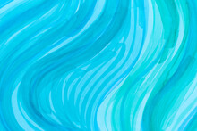 Abstract Wave Blue Pattern. Stock Illustration.