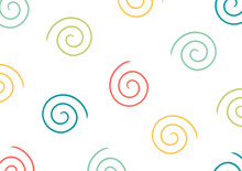 Colorful Abstract Background With Spiral Design With Simple And Modern Design