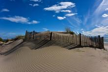 Dune Sur Une Plage à La Tamarissière, Herault, France