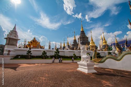 Fotografia Wat Ban Den, Chiang Mai Province is beautiful.
