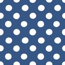 Seamless Polka Pattern