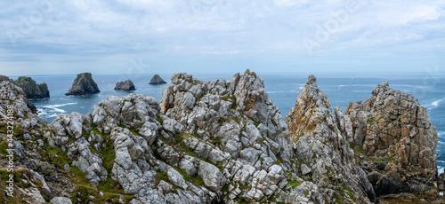 Fotografiet Vue panoramique Presqu'île de Crozon, Site naturel remarquable