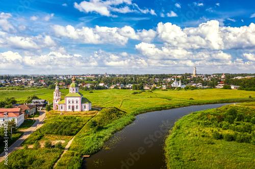 Church of Elijah the Prophet at the Kamenka river, Russia Fototapeta