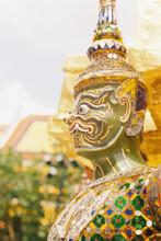 Golden Giant  Statue