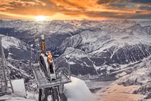 The SkyWay Monte Bianco Is A Spectacular Cable Car That Will Take You Comfortably Between The Glaciers And The Peaks Of The Highest Mountain In The Alps.