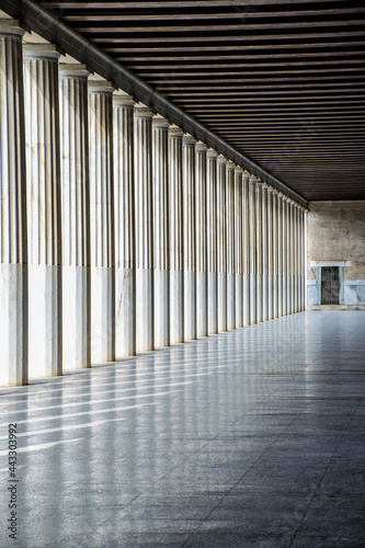 Billede på lærred Perspectives grecques
