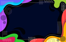 Abtract Geometric Background Vector Illustration