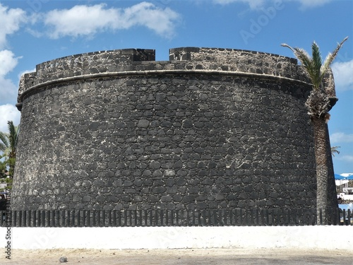 Castillo / Altes Kastell in Caleta de Fuste / Fuerteventura Fototapete