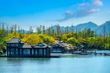 The Beautiful Landscape Of West Lake In Hangzhou