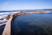 The Tide Pool At Witsand Holiday Resort In South Africa.