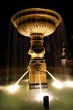 Fototapeta London - Fontanna w kolinie , timelaps