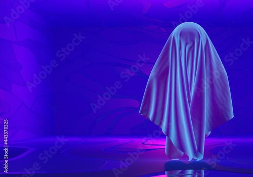 Fototapeta Halloween ghost concept