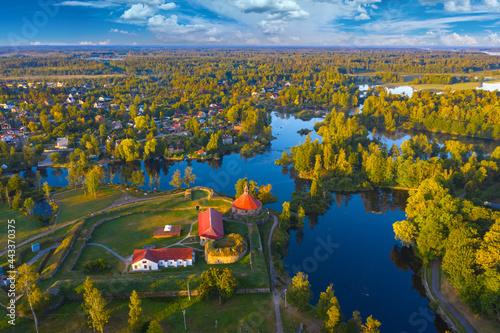 Priozersk in Karelia Fototapet