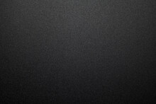 Black Plastic Material Texture Background. Close-up.