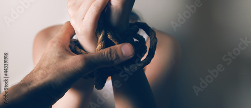 Tela Young Girl Beaten And Tied Up