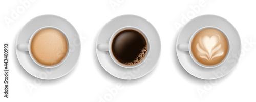 Obraz na plátně Cup coffee