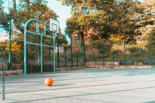 basketball ball in the park