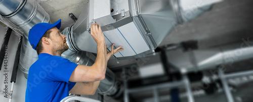 Fotografia, Obraz ventilation system installation and repair service