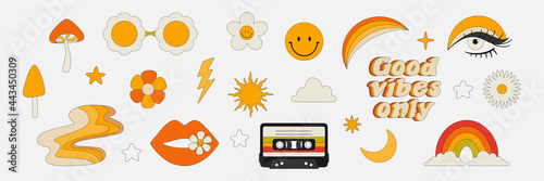Photo Clipart of the 70s
