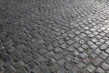 Stone Pavement Of Cologne, Germany