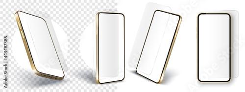 Fotografija Realistic smartphone mockup