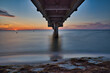 Ostsee, Sonnenuntergang, Seebrücke
