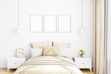 Mockup Frame In Bedroom, Frame Mockup, Interior Mockup, Mockup Poster, Mockup, Mock, Summer Mockup, Room Mockup, Digital File