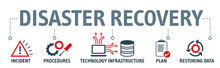 Disaster Recovery Vector Illustration Concept