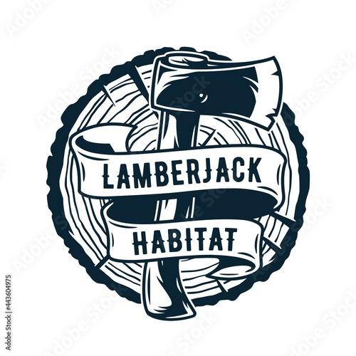 Fotografie, Obraz lumberjack axe