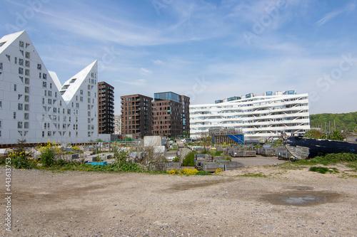 Fotografia Modern Architecture at Aarhus Oe Jutland Denmark