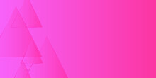 Abstract Pink Triangle Background, Geometry Background