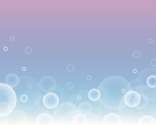 Rainbow Pastel Bubble Sky Background